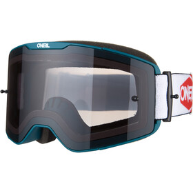 O'Neal B-20 Goggles Plain teal/red-gray